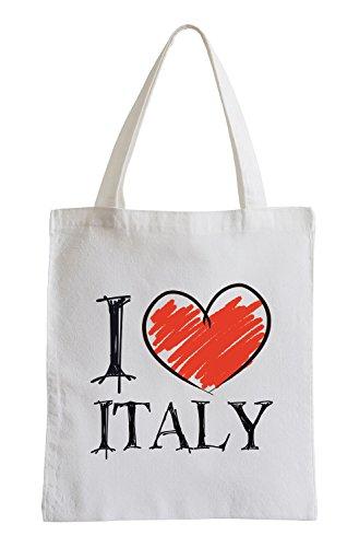 I love Italy Fun Jutebeutel
