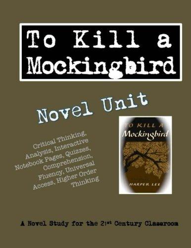 To Kill a Mockingbird Novel Unit