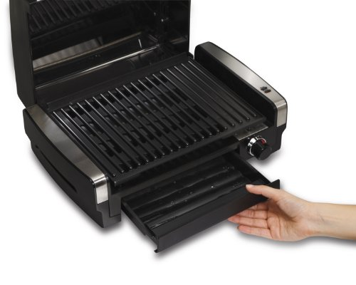 Hamilton Beach (25360) Electric Smokeless Indoor Grill & Searing Grill with Removable Plates by Hamilton Beach (Image #4)