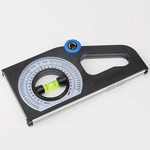 Type:with Strong Magnetic Angle Ruler,Slope Measuring,Horizontal Angle Meter,Universal Bevel Protractor Declinometer,/±1/°Accuracy,