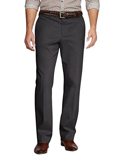 Match Men's Straight-Fit Work Wear Casual Pants #8104