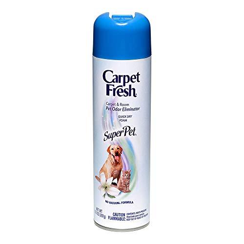 Carpet Fresh No Vacuum Foam Carpet Refresher, Super Pet 10.50 oz (Pack of 2)