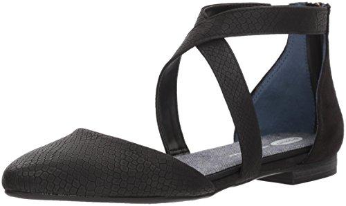 Dr. Scholl's Shoes Women's Adjust Ballet Flat, Black Snake Print, 6 M US - Dr Scholls Shoes Com