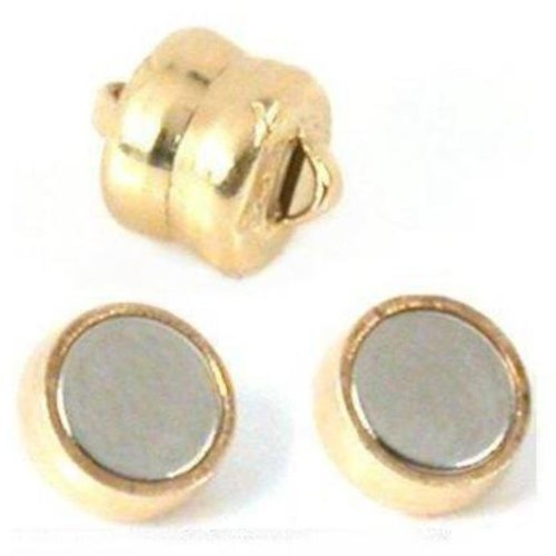 2 Gold Filled Magnetic Chain Clasps Jewelry Connectors