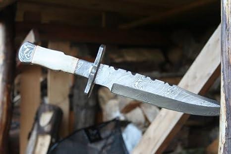 De acero de Damasco cuchillo de acero de Damasco cuchillo de ...