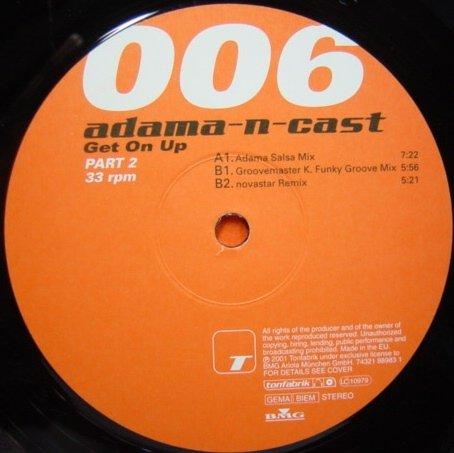 Get on up-Part 2 (Adama Salsa, 2001) / Vinyl Maxi Single [Vinyl 12'']