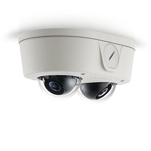 ARECONT VISION 4 Megapixel (MP) H.264 All-in-One Remote Focus User-Configurable Multi-Sensor True Day/Night Indoor/Outdoor Dome IP Camera / AV4655DN-28 / by Arecont Vision