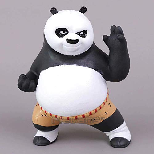 Toy Kids Christmas Birthday Gift Kung Fu Panda 3 Po Movie PVC Action Figure Collectible Model 19cm