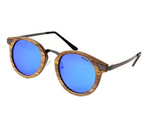 Gafas de Sol WODLOK Modelo Oak con Cristales en Azul