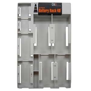 Orig Battery Rack 40 w.Tester