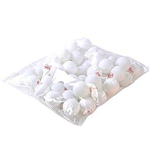 100pcs 3-Sterne-40mm Weiß Olympische Tischtennisplatte Tennis Ball