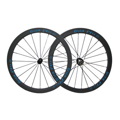 Bola Pro carbon bike wheelset,+/-0.2mm offset,Two Year Warranty,700C 38mm high 25mm wide tubular carbon rim with DT Swiss 240 hub and Sapim Cx ray 20/24 spoke -  Bola Bicycle Co.,Ltd, SDT3
