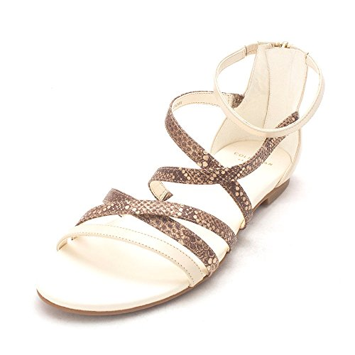 Cole Haan Womens 14A4110 Open Toe Casual Strappy Sandals Sandshell/Oatmeal GnpNC