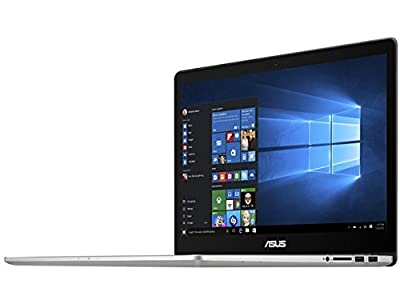 "Asus Laptop, Intel Core i7-6700HQ, 2.6 GHz, 512 GB, NVIDIA GeForce GTX 960M 2GB, Windows 10 Home, Silver, 15.6"" (Refurbished)"