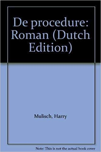 De Procedure Roman Dutch Edition Harry Mulisch