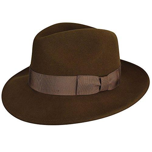 Country Gentleman Mens Frederick Wide Brim Fedora Hat