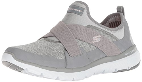 Chaussures De Hour finest Fitness Gris 0 Appeal Skechers Femme Flex 2 4wqppYH