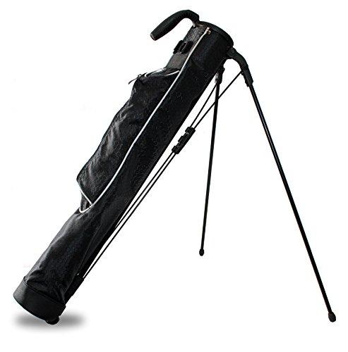 Taboo Golf Sidekick Driving Range Sunday Carry Golf Bag (Silver)