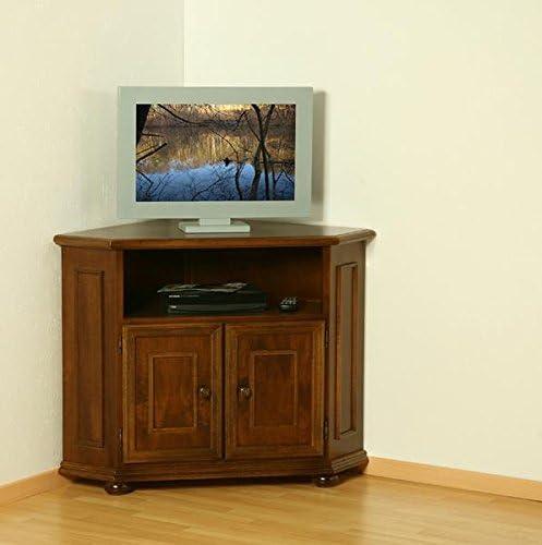 TV de Muebles Verona Nussbaum Antiguo Barnizado de Albero Muebles: Amazon.es: Hogar