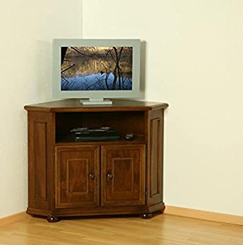 Albero Mobel Tv Mobel Verona Nussbaum Antik Gebeizt Amazon De