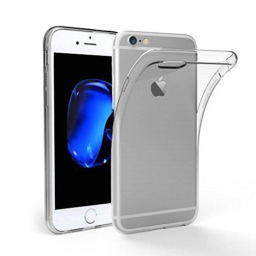 デジタルブロックするつかいますiPhone6S ケース, DOSMUNG iPhone6 ケース,高品質クリスタル クリア 透明 TPU素材 落下防止&衝撃吸収 擦り傷防止 薄&柔軟型 最軽量 水洗可