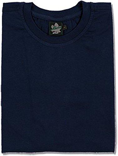Ahorn Basic T-Shirt blau XL-54/56