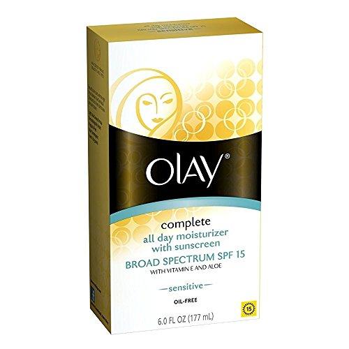 OLAY Complete All Day Moisturizer SPF 15, Sensitive Skin 6 oz
