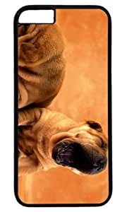 Lovely Dog Pet Case for iPhone 6 Plus PC Black by Cases & Mousepads
