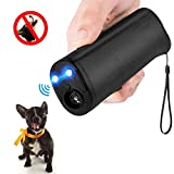 MEIREN Handheld Dog Repellent & Trainer, Anti Barking Device with LED...