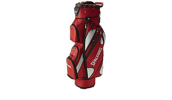 Spalding OT - Bolsa de Carro para Palos de Golf, Color Rojo ...
