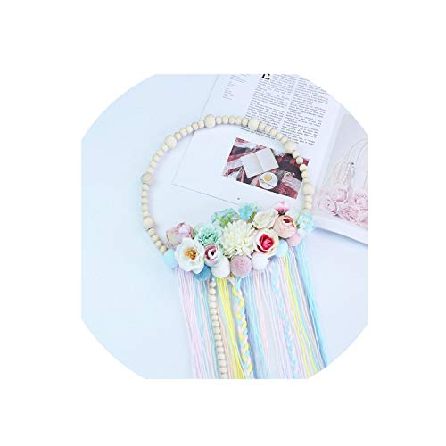 Baby Kids Room Decoration Wooden Beads Garland Tassel for sale  Delivered anywhere in Canada