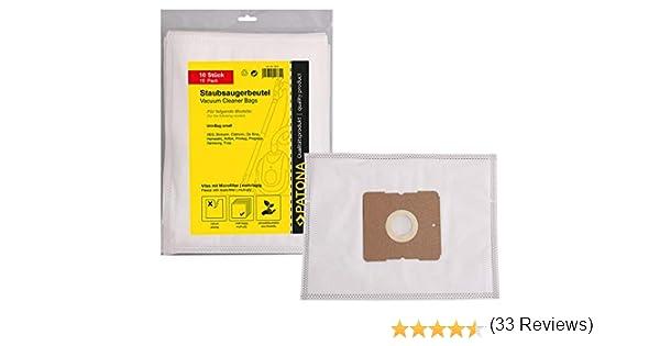 PATONA 10x Bolsas de Aspiradora Compatible con Solac 407 860 870 ...