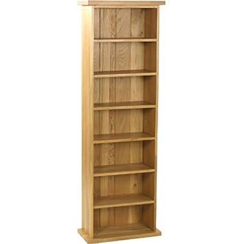 Torre porta CD in legno di rovere, collezione Carne: Amazon.it ...