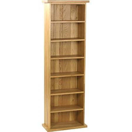 Torre porta CD in legno di rovere, collezione Carne: Amazon ...