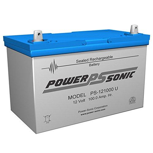 (12V 100Ah AGM Sealed Lead Acid Battery UB121000 Group 27)