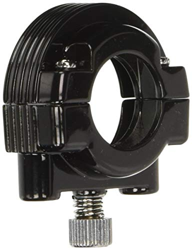 HardDrive 30-665AB Gloss Black Dual Cable Throttle Clamp