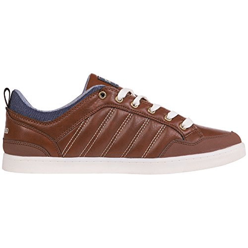 Kappa ROOSTER Footwear men - zapatilla deportiva de material sintético hombre marrón - Braun (5067 brown/navy)