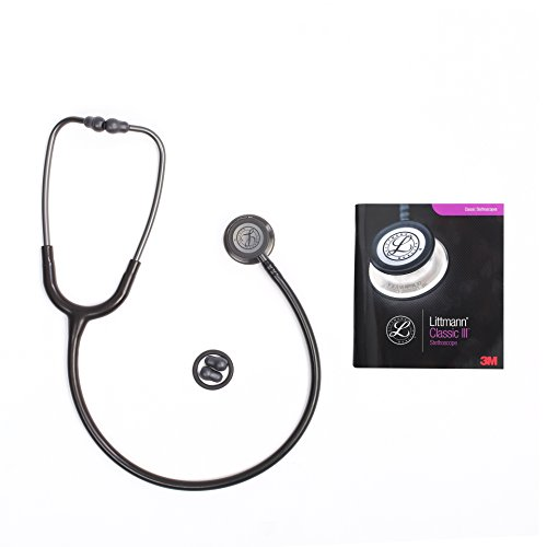 - Classic III Stethoscope, for Children and Adult (5620 Black Stainless)