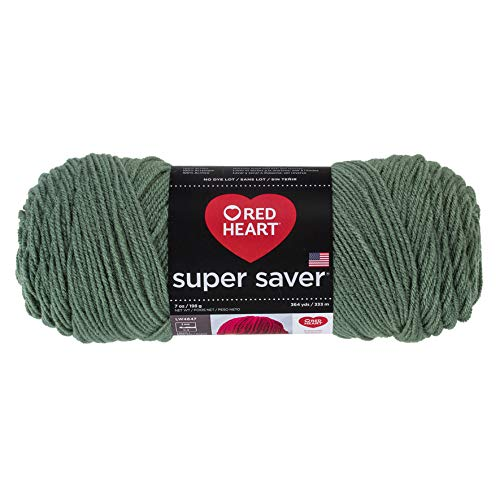 Red Heart Yarn Red Heart Super Saver Yarrn 631 Light Sage