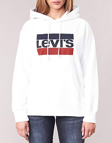 Levi's Graphic Sport Hoodie Elastico in Vita Donna 4