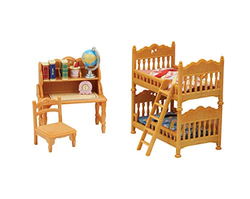 Calico Critters Children's Bedroom Set Critter House Room Furniture