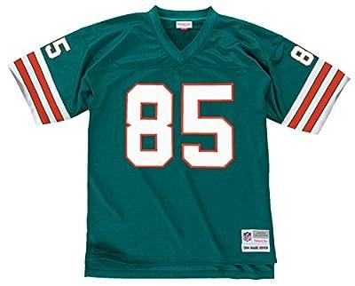 Mark Duper Miami Dolphins Men's NFL Mitchell & Ness Premier Aqua Jersey