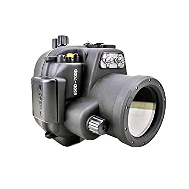 Polaroid SLR Dive Rated Waterproof Underwater Housing Case For The Canon T4I (650D), T5I(700D) Camera with a 18-55mm Lens
