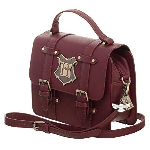 Harry Potter Hogwarts Satchel Handbag Purse ()