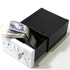 Imitation Wall Plug Socket Diversion Safe Stash Box