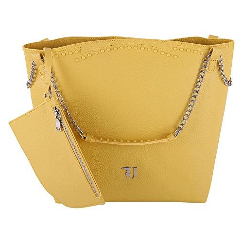 Trussardi Borsa Shopping Donna 75B003669Y099999Y180 Poliuretano Giallo
