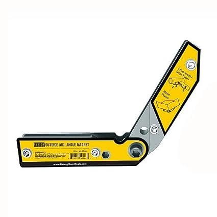 Imán ajustable de 30º a 270º de Strong Hand Tools, para soldadura y fabricación,