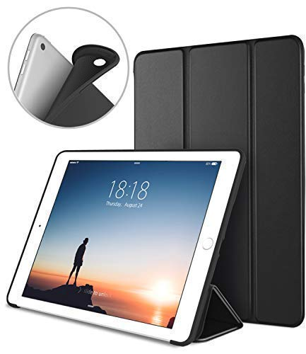 DTTO iPad 9.7 Case 2018 iPad 6th Generation Case/2017 iPad 5th Generation Case, Slim Fit Lightweight Smart Cover with Soft TPU Back Case for iPad 9.7 2018/2017 [Auto Sleep/Wake] - - Ipad Case Smart Apple