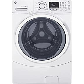 GE GFW450SSKWW 27' Front Load Washer with 4.5 cu. ft. Capacity, in White