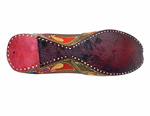 en Chaussures jutti femme cuir Style pour Étape Multicolore N de w6qfn1U